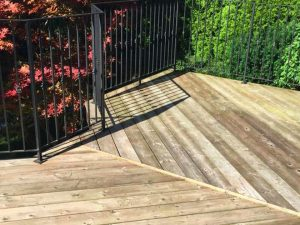 rainbow gardening blog post deck refinishing 092018 featured image